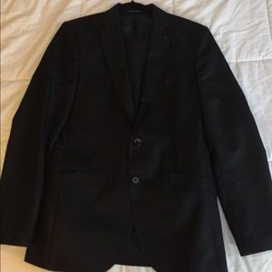 black Zara suit fairly new and good condition